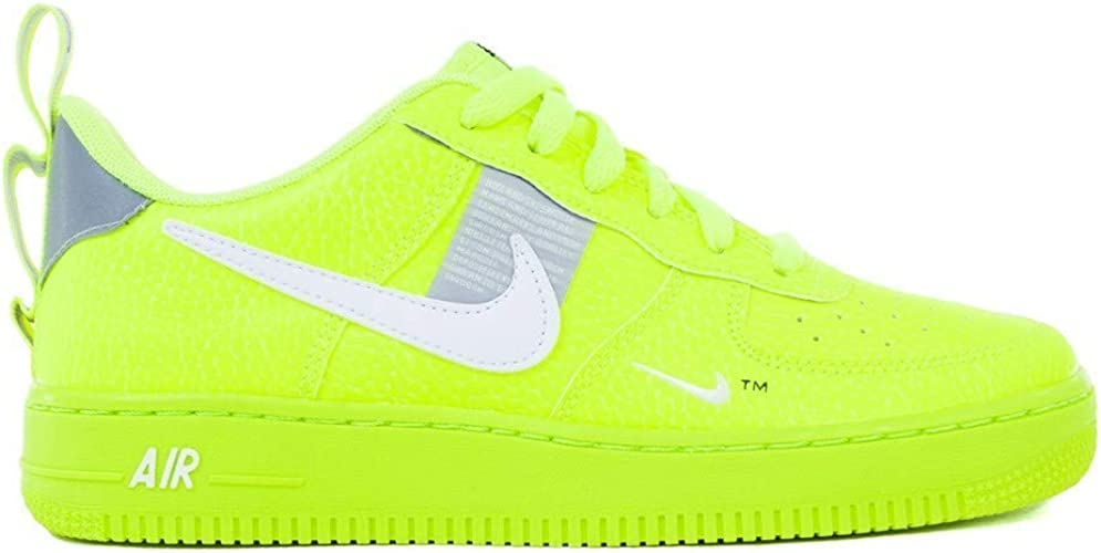 nike air force 1 gialle fluo
