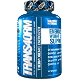 Evlution Nutrition Trans4orm Thermogenic Energizing Fat Burner Supplement, Increase Weight Loss, Energy and Intense Focus (30 Servings)