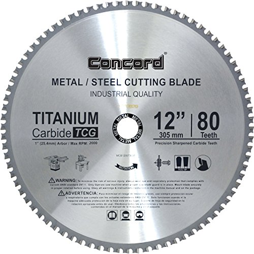 12 in carbide blade - 4