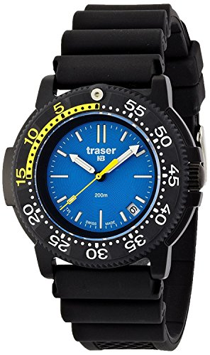 traser watch NAUTIC rubber P6504.93C.6E.03 Men's [regular imported goods]