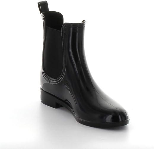 HOT men Rain Boots Anti-Slip Waterproof Heeled Flexible Soled Boots Shoes