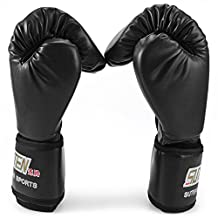 OutlifE 1 Pair PU Boxing Fighting Sanda Gloves with Wrist Wrap & Punching Bag For Professional or Amateur Men & Women