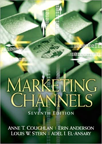 Marketing channels 7th edition anne coughlan erin anderson marketing channels 7th edition 7th edition fandeluxe Choice Image