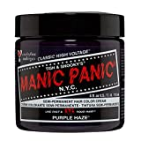 Manic Panic High Voltage classic cream Formula Purple Haze, 118 Milliliters