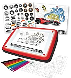 Hot wheels lightbox design set toys games - Lightbox amazon ...
