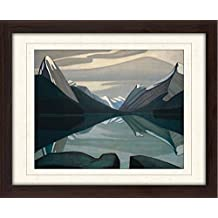 Art Lawren S. Harris Group of Seven Canvas Framed Free Shpping Made in Canada