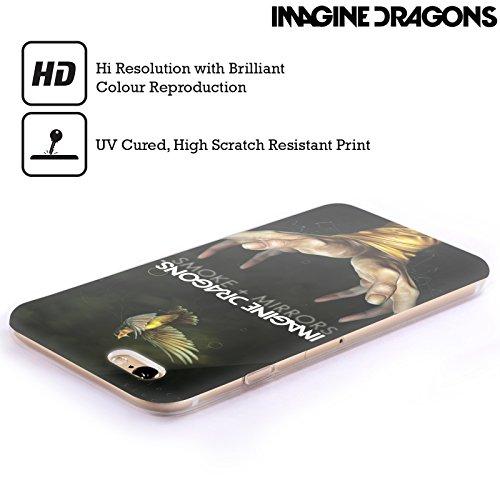 Officiel Imagine Dragons Smoke And Mirrors Art Clé Étui Coque en Gel molle pour Apple iPhone 4 / 4S