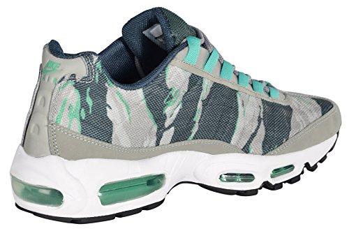 Nike Men's Air Max 95 PRM Tape Mine Grey/Gamma Green/Mrtr/Wht Running Shoes 11 Men US