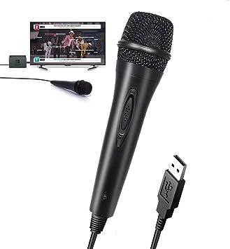 TUTUO Micrófono USB para Nintendo Switch, Alto Rendimiento del ...