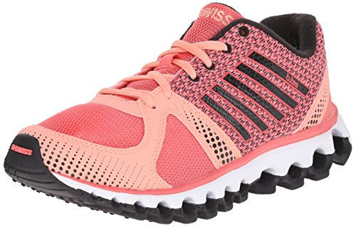 Sugar Pink Footwear (K-Swiss Women's X-160 CMF Athletic Shoe, Sugar Coral/Peach Amber/Black, 6 M US)