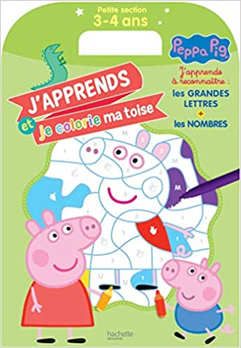 Amazon Com Ma Toise A Colorier Peppa Pig Petite Section 3 4 Ans French Edition 9782017081104 Books