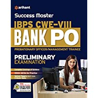 Success Master IBPS CWE-VIII Bank PO (PO/MT) Preliminary Examination 2018