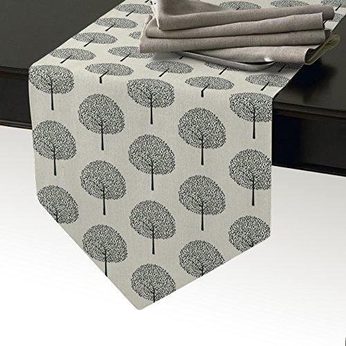 Cloud Dream Tree Seamless Pattern table runner 70 inches Lon