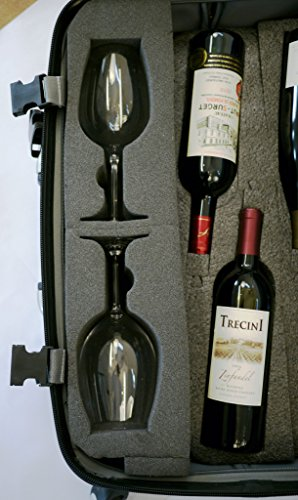 vingardevalise-wine-glass-insert-one-size-grey