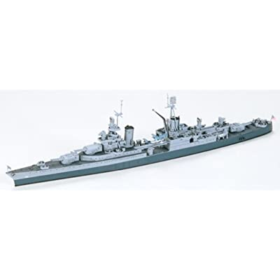 1:700 Scale U.s Navy Ca-35 Indianopolis Model Kit: Toys & Games