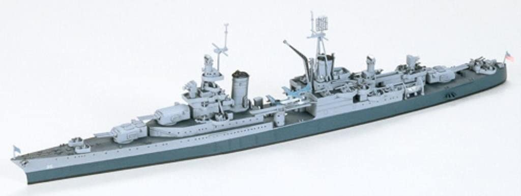 1:700 Scale U.s Navy Ca-35 Indianopolis Model Kit