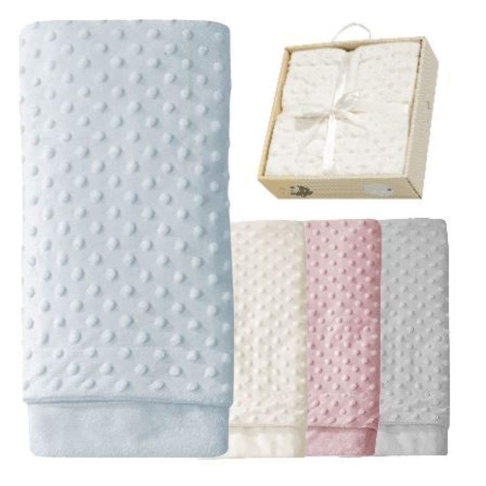Babydecke Kuscheldecke Erstlingsdecke Set Decke Erstausstattung Noppen Minky