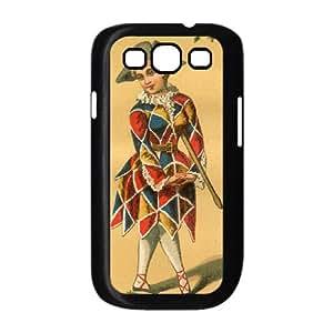 Harlequin Vintage Samsung Galaxy S3 9300 Cell Phone Case Black MUS9156690