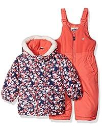OshKosh baby-girls Baby Girls Pink Infant Girls Hw Snowsuit B2175s15