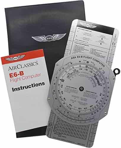 ASA E6B Metal Flight Computer