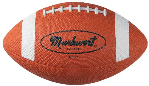 Markwort Intermediate Size Rubber Football