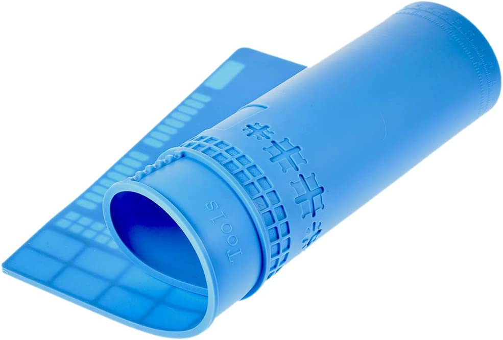Outils de R/éParation 35X25Cm Shumo Plate-Forme de Maintenance pour Tapis de Soudure de Tapis de Soudure Une Base de Silicone DIsolation R/éSistant Une la Station de Soudage Bga