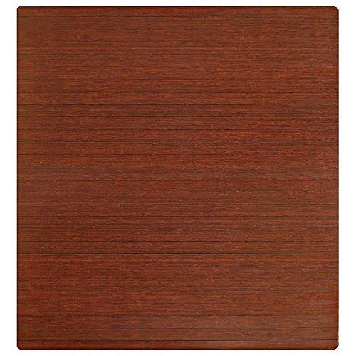 (K&A Company 48 x 52 Roll-Up Bamboo Chair Mat, 48
