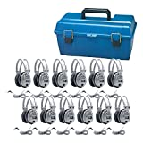 Hamilton Buhl Lab Pack, 12 SC7V Deluxe Headphones in a Carry Case