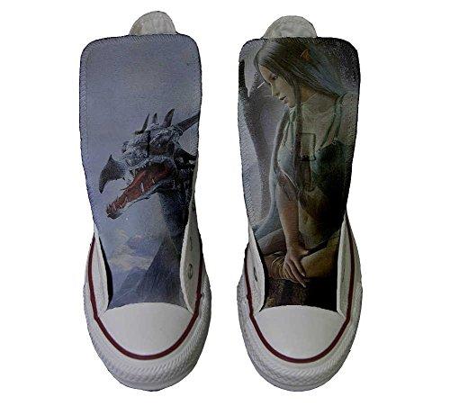 Converse personalisierte All Star Produkt Handwerk Style Schuhe Elfo UqUaxvrw