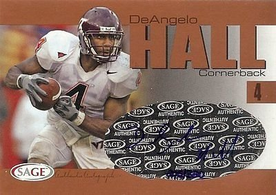 age Autograph Rookie Card RC 205/320 Virginia Tech ()