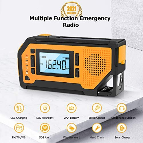 alarm and 3W large powerful speaker