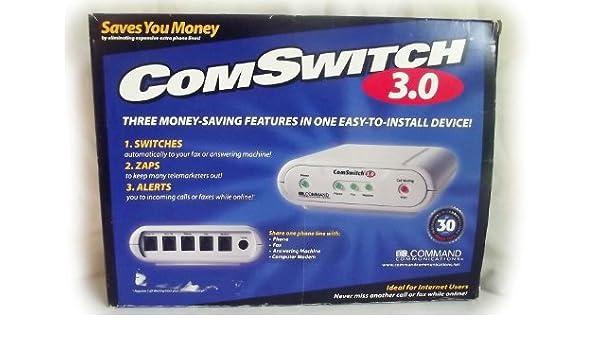 comswitch cs3.0 línea telefónica Fax/Sistema de Compartir ...