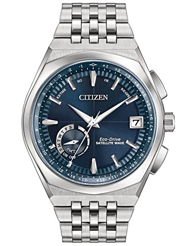 Citizen Eco-Drive CC3020-57L Mens Satellite Wave-World Time GPS