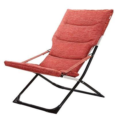 Amazon.com: Silla reclinable plegable para el almuerzo ...