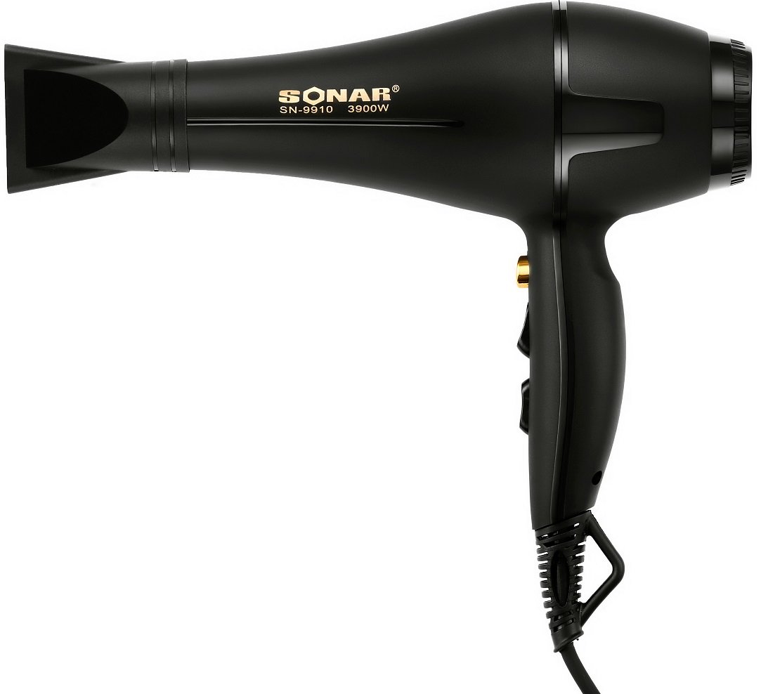 Sonar SN-9910 Heavy Duty Hair Dryer - Black 1 Pcs