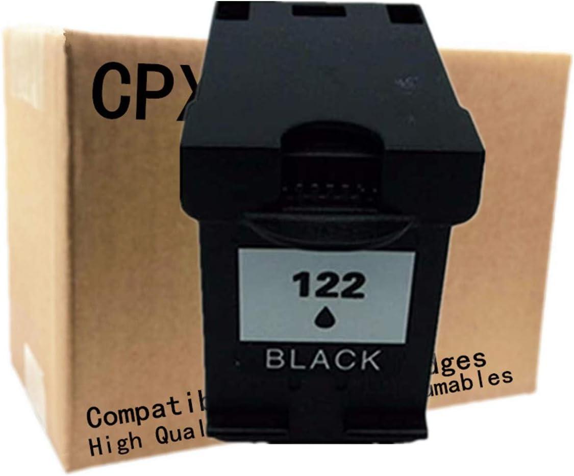 No-name Remanufactured Ink Cartridges Replacement for HP 122 XL HP122 HP122XL 122XL Deskjet 1000 1050 2000 2050 2050s 3000 3050A 3052A 3054A D1000 Inkjet Printer 2 Black