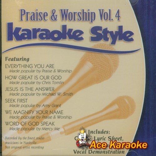 e CDG #3192 - Praise & Worship Vol.4 ()