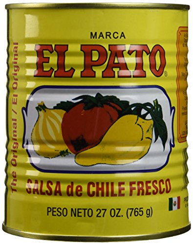 El Pato Hot Tomato Sauce, 27 oz
