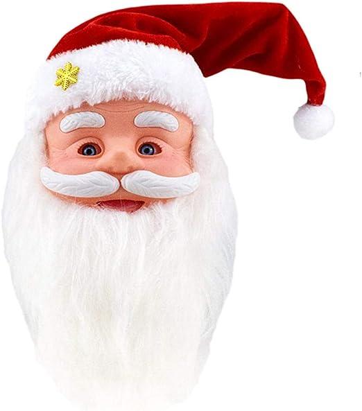 DOLL HOUSE MINIATURE SANTA MASK FOR HALLOWEEN OR CHRISTMAS