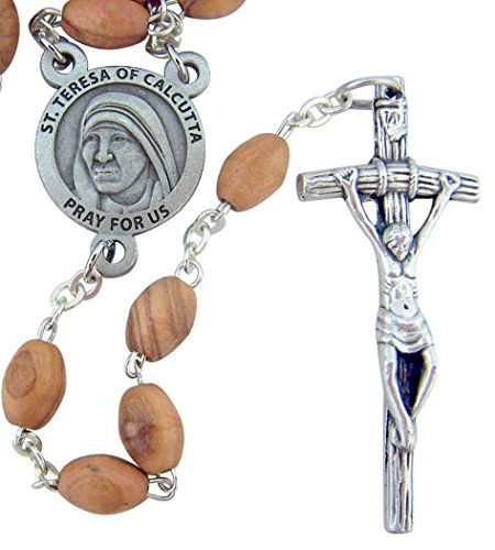 Rosary Papal Crucifix - 1