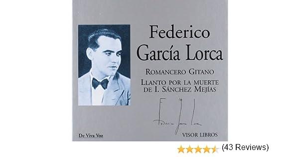 Federico García Lorca Romancero gitano (De Viva Voz): Amazon.es: García Lorca, F., García Lorca, F.: Libros