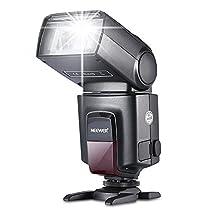 Neewer® TT560-Blitz Speedlite für Canon Nikon Sony Olympus Panasonic Pentax Fujifilm Sigma Minolta Leica und andere SLR Digital SLR Spiegelreflex-Kameras und Digitalkameras mit Single-Kontakt Hot Shoe