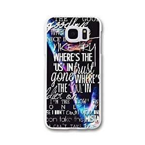 The Script J0W2EM5E Caso funda Samsung Galaxy S7 Edge Caja blanco