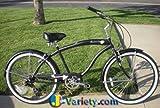 Micargi Rover 7-speed 26″ Beach Cruiser Bike for men Schwinn Nirve Firmstrong Style MBK