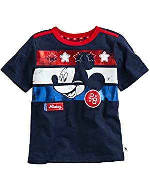 Baby Boys Disney Tee (12M, Navy)