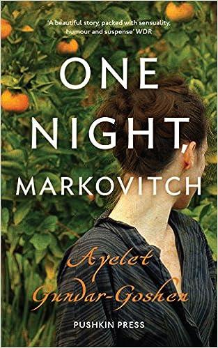 Book One Night, Markovitch