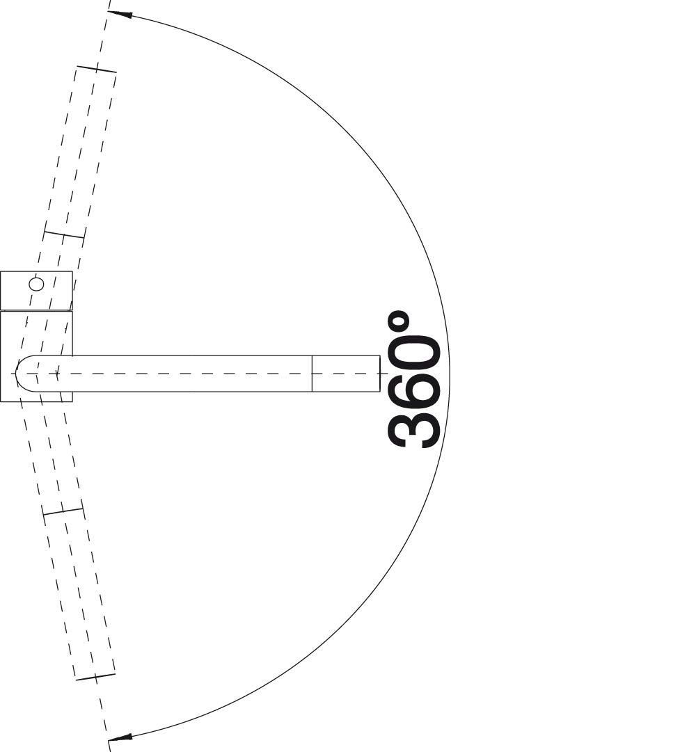 517184 argento cromato Blanco Linus-S Vario rubinetteria da cucina finitura metallizzata alta pressione