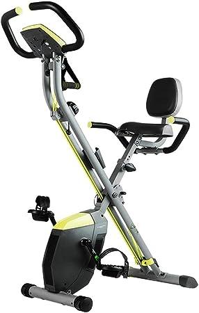 Fitness y ejercicio Bicicleta para adultos Bicicleta interior plegable Máquina de pedal masculina y femenina Stovepipe que adelgaza la bicicleta de ejercicio (Color : Yellow , Size : 58cm*147cm) : Amazon.es: Hogar