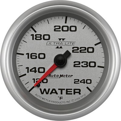 A48773225006-7732 - Autometer 7732 Water Temperature Gauge - Mechanical, Universal (Metric Water Temperature Gauge)