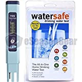ZT-2 + WS-425B City, HM Digital TDS ppm Tester + Watersafe Home Tap Drinking Water Test Kit, Bacteria, Lead, Pesticide, Nitrate / Nitrite, pH, Hardness, Chlorine